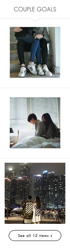"""""""COUPLE GOALS"""" by pinkcloud-entertainment ❤ liked on Polyvore featuring icon, pictures, couples, casais, instagram, people, photos, pink, tumblr and tops"""