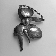 1950s Hand Made Sterling Silver Snake Dancer by GraciousGood, $35.00