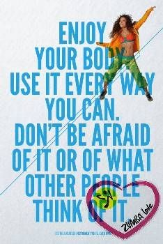 #zumba respect and love your body!