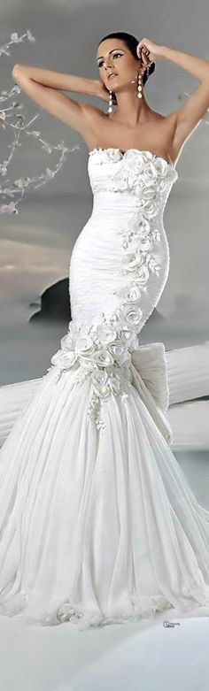 Weddbook is a content discovery engine mostly specialized on wedding concept. You can collect images, videos or articles you discovered  organize them, add your own ideas to your collections and share with other people -  See more about white gowns, fashion wedding and gowns.