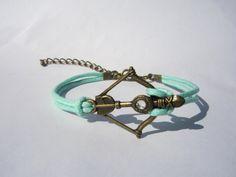 Disney Brave Inspired Merida Bow Bracelet Mint by WearingPretty, $1.99