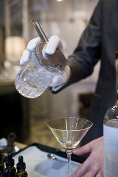 Making a dry Martini, Connaught Hotel, London | Flickr - Photo Sharing!