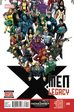 X-Men: Legacy #300 - ForgetMeNot (Issue)