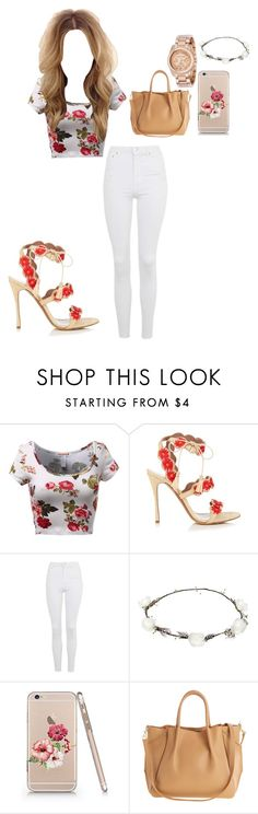 """""""Untitled #19"""" by prvncesskaye on Polyvore featuring Tabitha Simmons, Topshop, Lipsy and Michael Kors"""