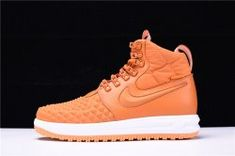 932742e7845b Men s Nike Lunar Force 1 Duckboot 17 KPU Orange 922807-702 Boys Basketball  Shoes Nike