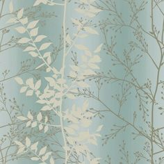 Black, Silver and Grey : Clarissa Hulse Persephone Wallpaper | | The Decorating Shop: Online Wallpaper Store