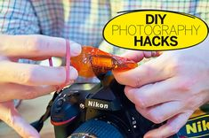DIY Photography Hacks: make colour lighting gels from candy wrappers