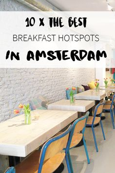 """Looking for the best breakfast spots in Amsterdam? On travel blog http://www.yourlittleblackbook.me you will find a list of 10 restaurants & bars where you can have a delicious breakfast. Planning a trip to Amsterdam? Check http://www.yourlittleblackbook.me/ & download """"The Amsterdam City Guide app"""" for Android & iOs with over 550 hotspots: https://itunes.apple.com/us/app/amsterdam-cityguide-yourlbb/id1066913884?mt=8 or https://play.google.com/store/apps/details?id=com.app.r3914JB"""