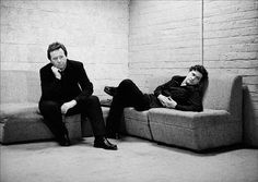 Jim Kerr and Charlie Burchill