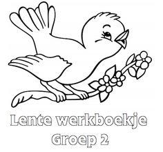 Printable Cartoon Birds Coloring Pages - Coloring Page and Park Wallpaper HD House Colouring Pages, Spring Coloring Pages, Coloring Sheets For Kids, Flower Coloring Pages, Disney Coloring Pages, Animal Coloring Pages, Coloring Pages To Print, Coloring Book Pages, Printable Coloring Pages