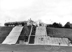 Garthdee Dry slopes Silver City, Close To Home, North Sea, Aberdeen, Motel, Louvre, Fair Grounds, Grey, Pictures