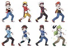 Now everyone do that lightning pose! Pokemon Oc, Black Pokemon, Pokemon Ships, Pokemon Comics, Pokemon Funny, Pokemon Fan Art, Pokemon Adventures Manga, Pokemon Champions, Anime Undertale