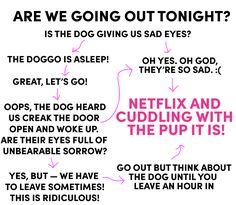 7 Charts You'll Only Get if You're Dating a Dog Person - Cosmopolitan.com