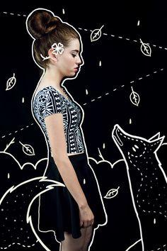 Experimental photography and illustration workTrabajo experimental de fotografía e ilustración como ejercicio creativo.