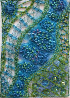 May 5 (3-day class): Stitch Journeys: Your Guide to Amazing Stitching with Liz Kettle at artisticartifacts.com