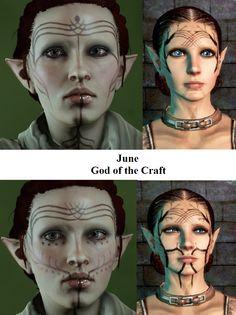 June (God of Craft)