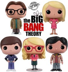 Eu-quero-The-Big-Bang-Theory-Pop-Vinyl-Figures-funko-pop-chá-com-cupcakes