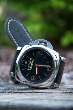 High end Mans Watch to wear with his Wedding Day Tuxedo panerai