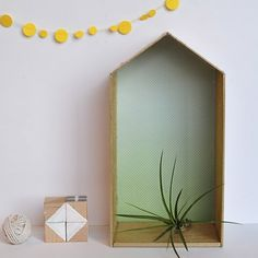 See how to create a simple but modern Balsa Wood house. Perfect for showing off your favorite decor!
