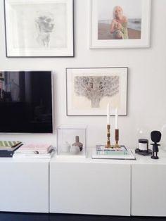 Related image Ikea Storage, Beautiful Interior Design, Minimalism, Gallery Wall, Living Room, Inspiration, Frames, Home Decor, Google