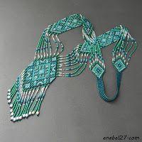 "Gerdau scheme ""Turquoise Dream"" - weaving / Tapestry weaving"