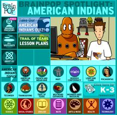 Brain Pop Native American educational videos | Cool Mom Pick Native American Mythology, Social Studies Lesson Plans, Trail Of Tears, Cool Mom Picks, Elementary Library, Lewis And Clark, Good Parenting, Educational Videos, Life Savers