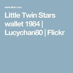Little Twin Stars wallet 1984 | Lucychan80 | Flickr