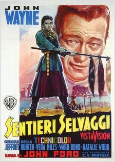 1956 movie stills Belgian | The Searchers (1956) Italian poster