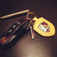 Wiz Khalifa's Porsche Key