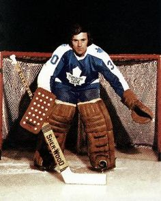 Ron Low Toronto Maple Leafs autographed signed Photograph w/COA Hockey Goalie, Hockey Games, Hockey Players, Ice Hockey, Nhl, Maple Leafs Hockey, Goalie Mask, Good Old Times, National Hockey League