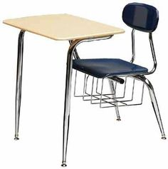 """Scholar Craft 687 ELSPBR Solid Plastic Combo Desk with Extra Large Seat by Scholar Craft. $153.95. Scholar Craft 687 ELSPBR Solid Plastic Combo Desk with Extra Large Seat Scholar Craft 5/8"""" Solid Plastic Combo Desk is an extremely durable, affordable seating choice for your school. The thick melamine chair won't chip, scratch or fade, and is curved to let your students sit comfortably. The roomy solid plastic desktop gives kids tons of space for books, papers and o..."""