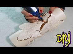 Make a Beaded Chandelier Diy Crafts Hacks, Craft Tutorials, Diy And Crafts, Pvc Pipe Crafts, Pvc Pipe Projects, Paper Quilling For Beginners, Pyrography Patterns, Do It Yourself Furniture, Homemade Art