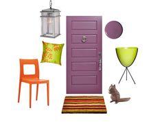 Come on in! #FrontDoor design ideas from #HGTVMagazine // http://www.hgtv.com/design/decorating/design-101/front-door-design-ideas-pictures?soc=pinterest