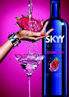 Skyy Vodka Skyy Vodka, Alcohol Quotes, Martini, Drinks, Tableware, Glass, Bottles, Drinking, Beverages