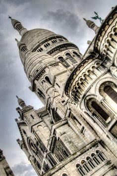 Off the bucket list - Sacre Coeur Basilica, Paris/ Montmartre, France.