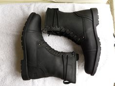 CAT Caterpillar Posner Boots Stiefel schwarz Gr. 44 NEU m. Karton   eBay
