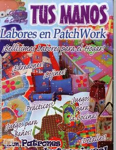 Revistas de manualidades Gratis: Revista de patchwork gratis Origami, Sewing Magazines, Patch Aplique, Book Quilt, Patch Quilt, Felt Dolls, Quilt Making, Sewing Tutorials, Crafts To Make