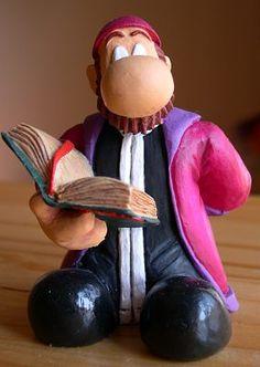 Figura de resina del Papa Alejo. #Fanhunter.