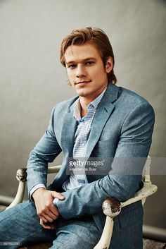 News Photo : Lucas Till from CBS's 'MacGyver' poses for a...