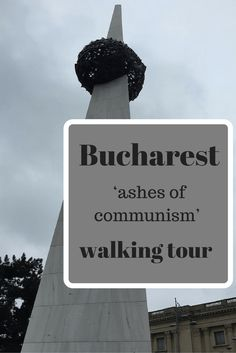 Bucharest 'ashes of communism' walking tour Stuff To Do, Things To Do, Europe Holidays, Grey Skies, Communism, Bucharest, Walking Tour, Do Anything, Rafting