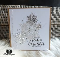 Magical Scrapworld: a flurry of warm Christmas wishes, cards, christmas, colorful seasons, flurry of wishes, Stampin' Up!,