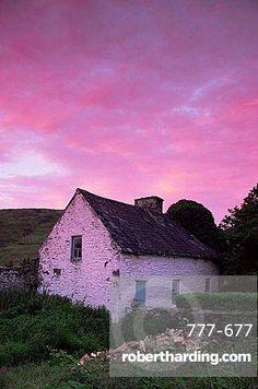 Cottage, Kilgarvan, County Kerry, Munster, Republic of Ireland, Europe
