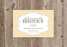 Honey Jar Wedding or Party Favor Label Printable
