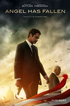 See the first trailer for 'Angel Has Fallen' and read what Gerard Butler says about the sequel to 'Olympus Has Fallen' and 'London Has Fallen. London Has Fallen, Film 2017, Jada Pinkett Smith, Harry Potter Film, Movies To Watch, Good Movies, Movies Box, Film Watch, Movies Free