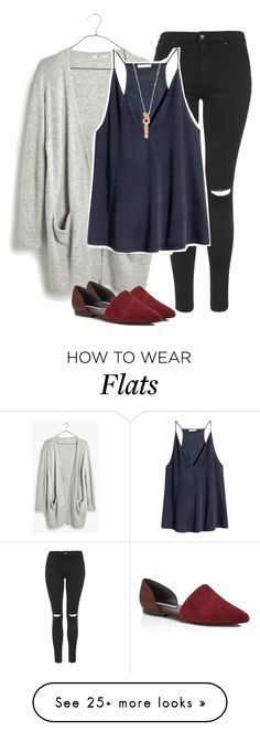 """Come Walk With Me"" by indieloverr on Polyvore featuring Topshop, Madewell, H&M, Charles David and madewell"