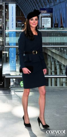 Kate Middleton with a great fall outfit.~♥~ | #MyNewFallEdit