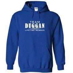 Team DUGGAN, Lifetime member - #tshirt bag #funny sweater. PURCHASE NOW  => https://www.sunfrog.com/Names/Team-DUGGAN-Lifetime-member-esfwdlfzjs-RoyalBlue-17765414-Hoodie.html?id=60505