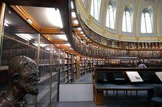British Museum Reading Room, London
