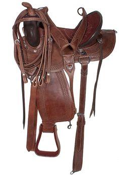 16 18 Amazingly Comfortable Brown Trail Endurance Saddle