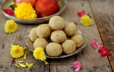 Bellam undrallu are steamed sweet rice flour balls offered as prasad to Lord Ganesh on His birthday (Ganesh Chaturthi)
